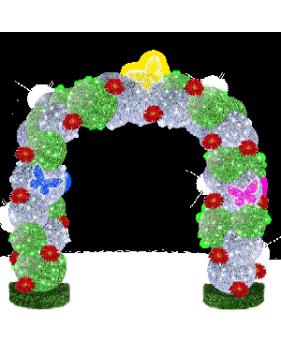 """3D светодиодная конструкция """" Весенняя арка"""""""