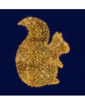 3D светодиодная БЕЛОЧКА 1,5*1,2