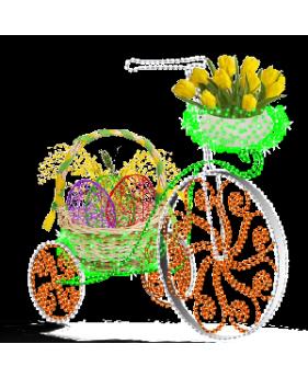"""3D светодиодная конструкция """"Пасхальный велосипед"""""""
