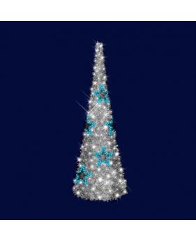 """3D светодиодная ёлка """"Синяя звезда"""", 3,0*1,0"""