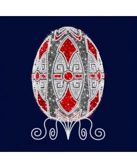 """3D  светодиодная конструкция пасхальное яйцо """"Фаберже"""""""