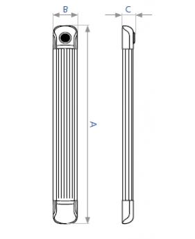Светодиодный светильник DELUX FLF LED30 32W с датчиком