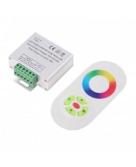 Контроллер RGB 18А-Touch Белый