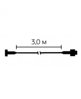Кабель удлинитель для гирлянд3 м