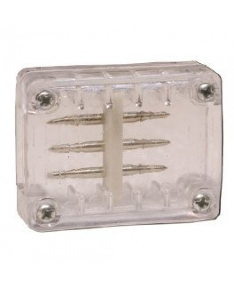 Соединитель 4-полюсный для светодиодного провода LRLx4