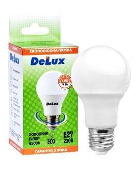 Светодиодная лампа  DELUX  BL 60 7Вт E27 холодный  белый