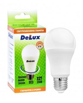 Светодиодная лампа DELUX BL60 15Вт E27 теплый белый