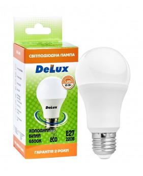 Светодиодная лампа DELUX BL60 15Вт E27 холодный белый