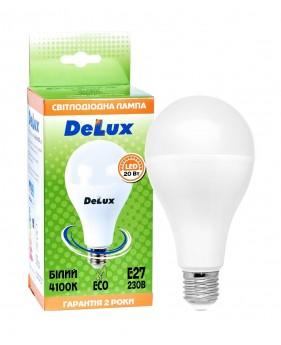 Светодиодная лампа DELUX BL80 20Вт E27 белый