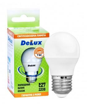 Светодиодная лампа DELUX BL50P 7 Вт E27 холодный белый