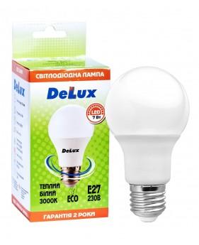Светодиодная лампа  DELUX  BL60 7 Вт E27 теплый белый