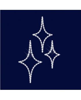"""Светодиодный мотив универсальный """"Три звезды"""""""