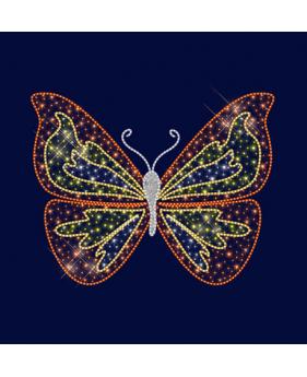 """3D светодиодная конструкция бабочка """"Пестрянка"""""""