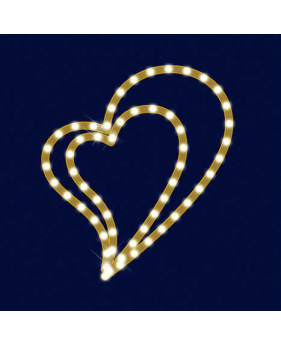 "Светодиодный мотив сердце ""LOVE"""