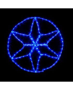 Светодиодная наружная гирлянда DELUX MOTIF Star 6 кон.
