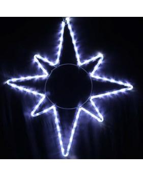 Светодиодная наружная гирлянда DELUX MOTIF Star 8 кон.
