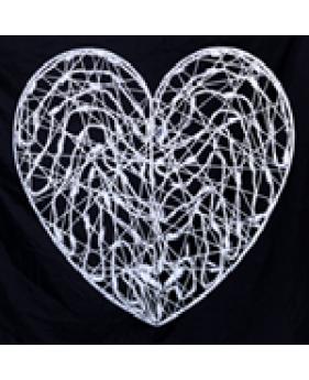 """Сердце с фибергласса """"Любовь"""""""