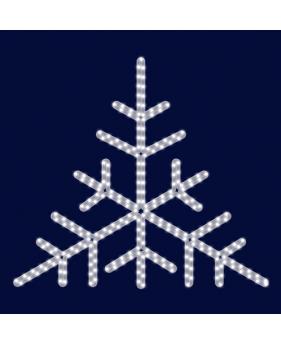 """Светодиодная снежинка """"Треугольная"""""""