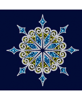 """Светодиодная снежинка """"Калейдоскоп"""""""