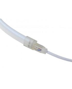 Коннектор для светодиодных лент Neon Flex 12В (разъем-провод +2pin)