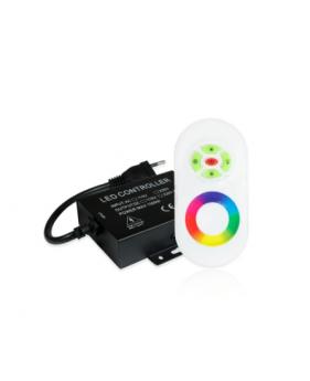 RGB контроллер для ленты 220В с RF пультом д/у 1500W