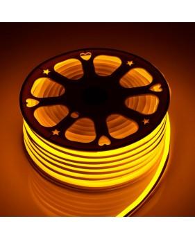 Светодиодный Neon Flex 220V желтый