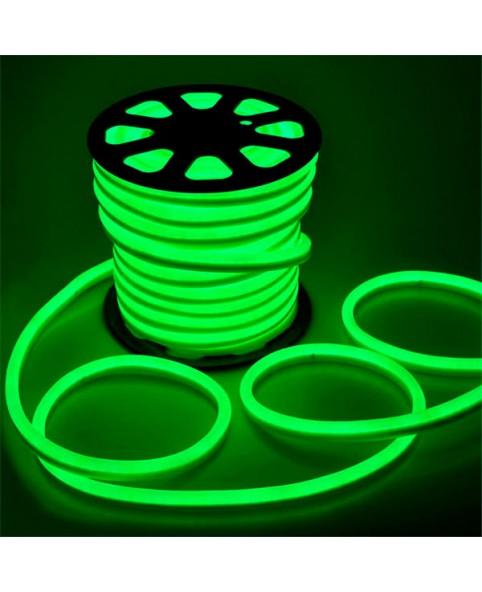 Светодиодный Neon Flex 220V зеленый