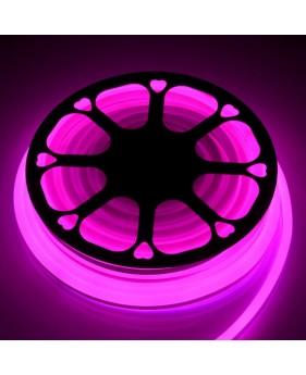 Светодиодный Neon Flex 220V розовый