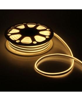 Светодиодный Neon Flex 220V тёплый белый