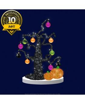 """3D светодиодная конструкция дерево """"Хеллоуин"""""""
