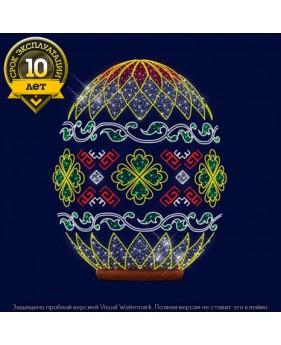 """3D светодиодная конструкция пасхальное яйцо """"Орнамент"""""""