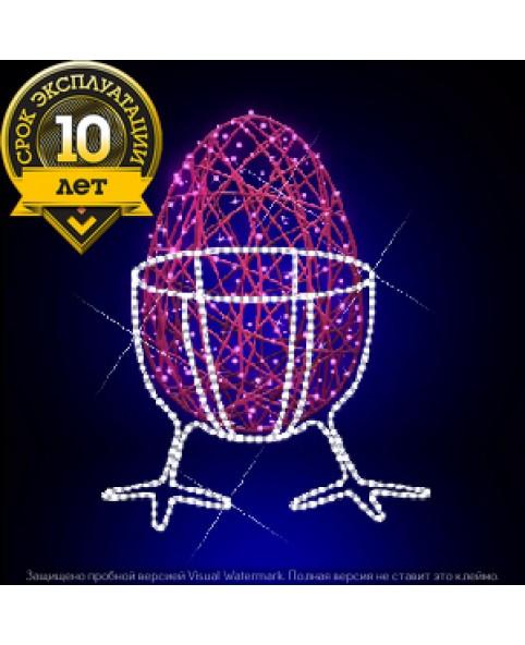 """3D светодиодная конструкция """"Яичко на ножках"""""""