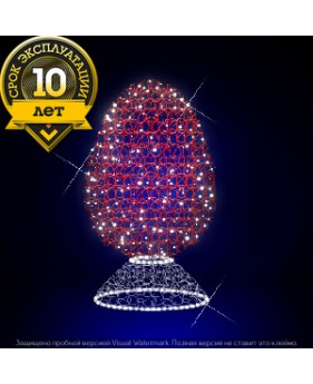 """3D светодиодная конструкция """"Яйцо мерцание"""""""