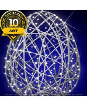 """3D светодиодная конструкция """"Яйцо из фибергласса"""""""