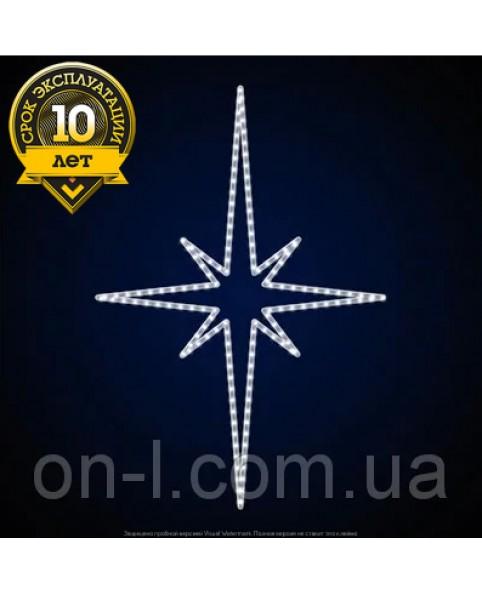 """Светодиодная звезда """"Восьмиконечная узкая"""""""
