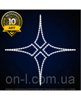 """Светодиодная звезда """"5 элемент"""""""