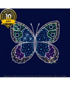3D светодиодная конструкция бабочка (цветная)
