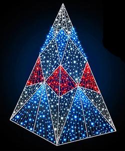 Дизайнерские светодиодные елки