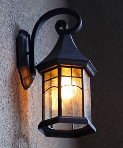 Настенные фасадные светильники