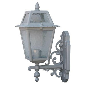 Садово-парковый светильник DeLux PALACE 1019B5 серебрянный