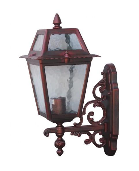 Садово-парковый светильник DeLux PALACE 1019B5 красная медь