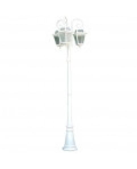 Садово-парковый светильник DeLux PALACE 1019E/3 белый
