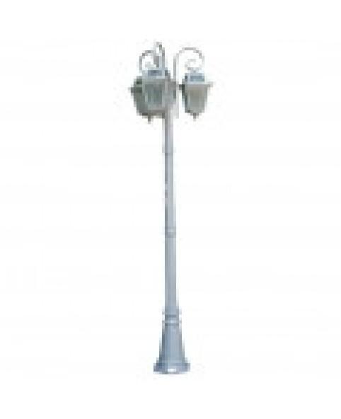 Садово-парковый светильник DeLux PALACE 1019E/3 серебрянный