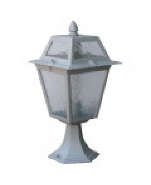 Садово-парковый светильник DeLux PALACE 1019A1 серебрянный