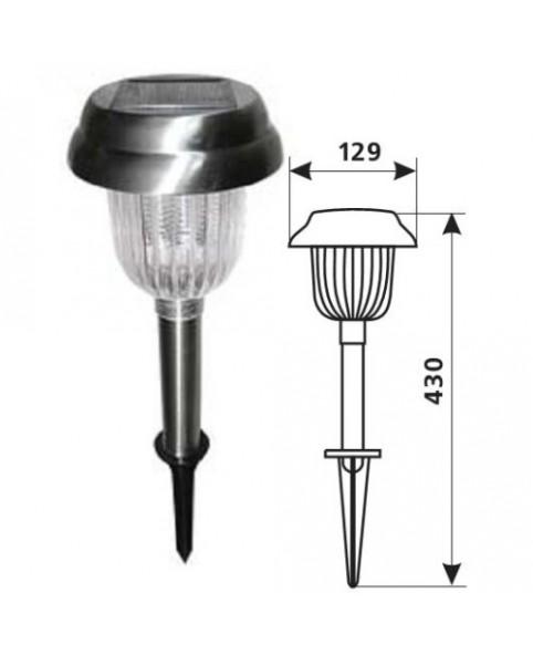 Грунтовой светодиодный светильник DELUX SOLAR 03