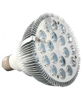 Лампа для растений 18*1W E27, красно-синий спектр
