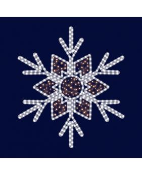 """Светодиодная снежинка """"Зимняя"""""""