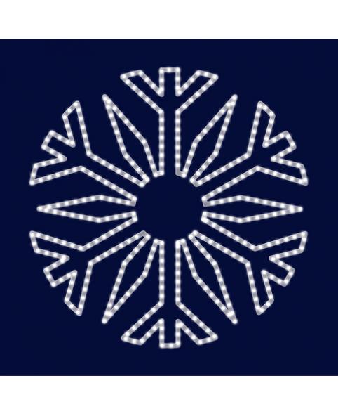 Снежинка светодиодная SL030