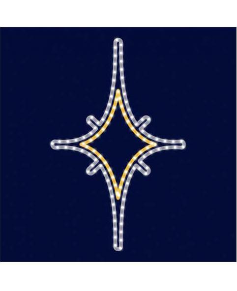 Звезда светодиодная LZ006