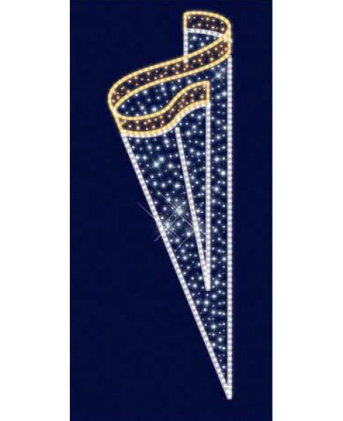 Кронштейн наопору светодиодный 025